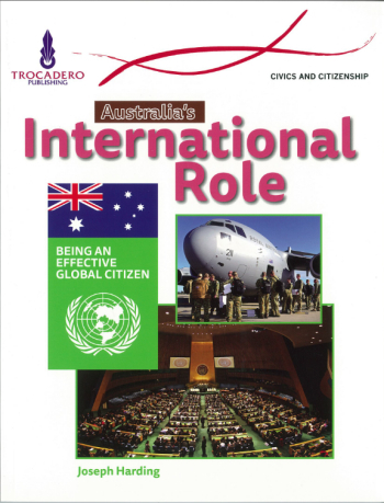 Australia s International Role: Being An Effective Global Citizen: Australian Society