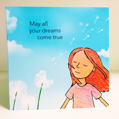 "Cloud Conductor Gift Card: ""May All Your Dreams Come True"""