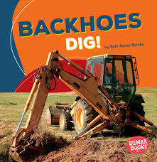 Backhoes Dig - Construction Zone