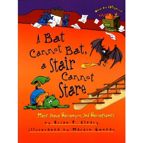A Bat Cannot Bat, a Stair Cannot Stare: Words are Categorical
