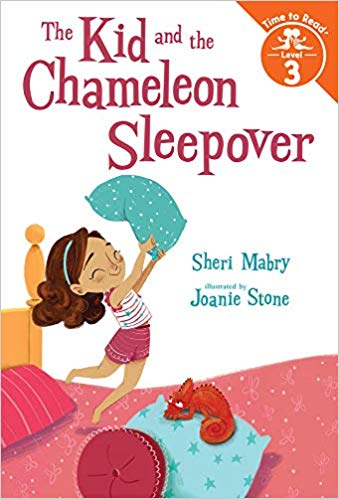 The Kid and the Chameleon Sleepover (The Kid and the Chameleon: Time to Read, Level 3)