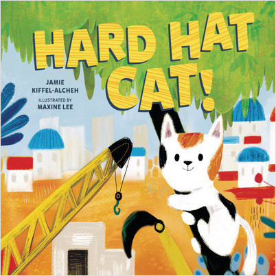 Hard Hat Cat!