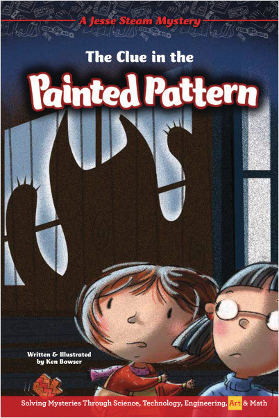 The Clue in the Painted Pattern: Jesse Steam Mysteries