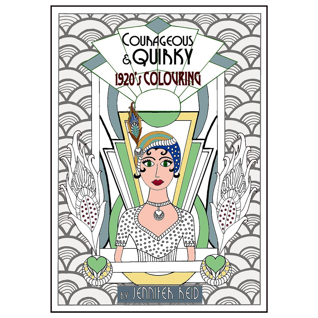 Courageous & Quirky: 1920's Colouring