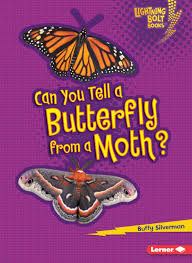 Can You Tell a Butterfly from a Moth: Animal Look Alikes (Lightning Bolt Books)