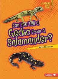 Can You Tell a Gecko from a Salamander: Animal Look Alikes (Lightning Bolt Books)