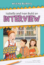 *FINAL STOCK* Isabella and Ivan Build an Interview (Writing Builders)