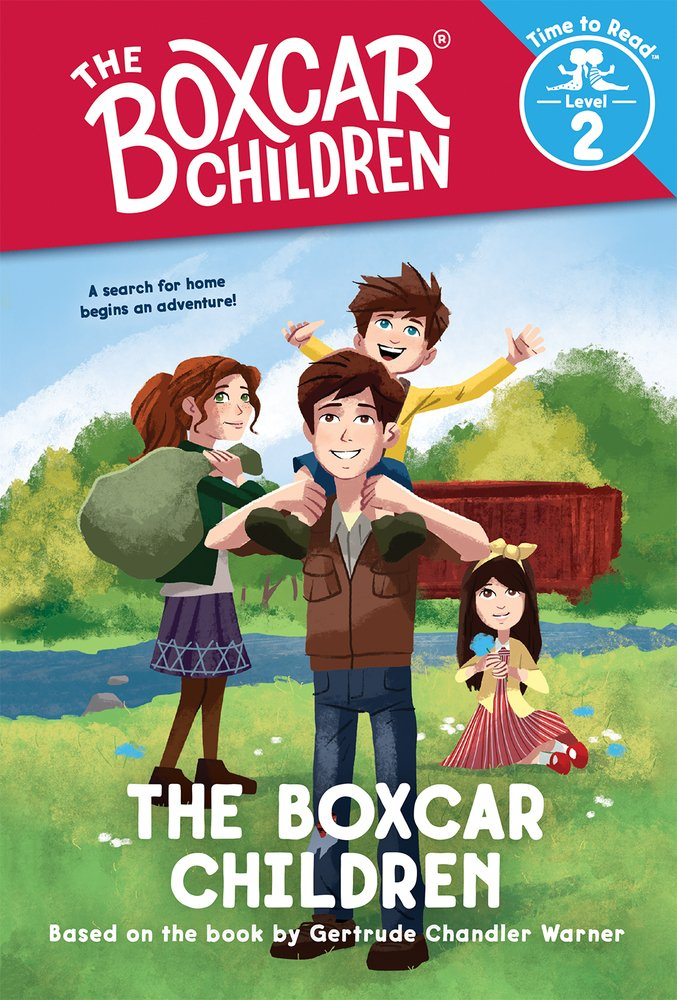 The Boxcar Children, Time to Read: The Boxcar Children (The Boxcar Children #1)