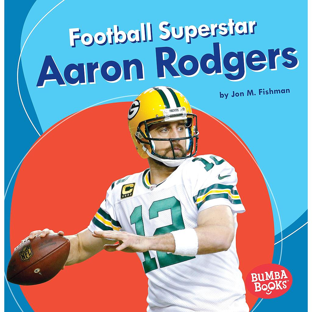 Bumba Books— Sports Superstars: Football Superstar Aaron Rodgers